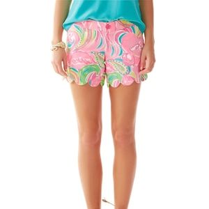 Lilly Pulitzer Buttercup Scallop Multi All Nighter